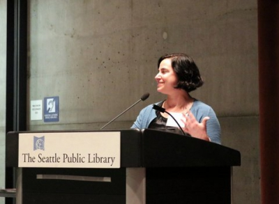 Laurie Frankel, author of This Is How It Always Is , winner for Fiction.